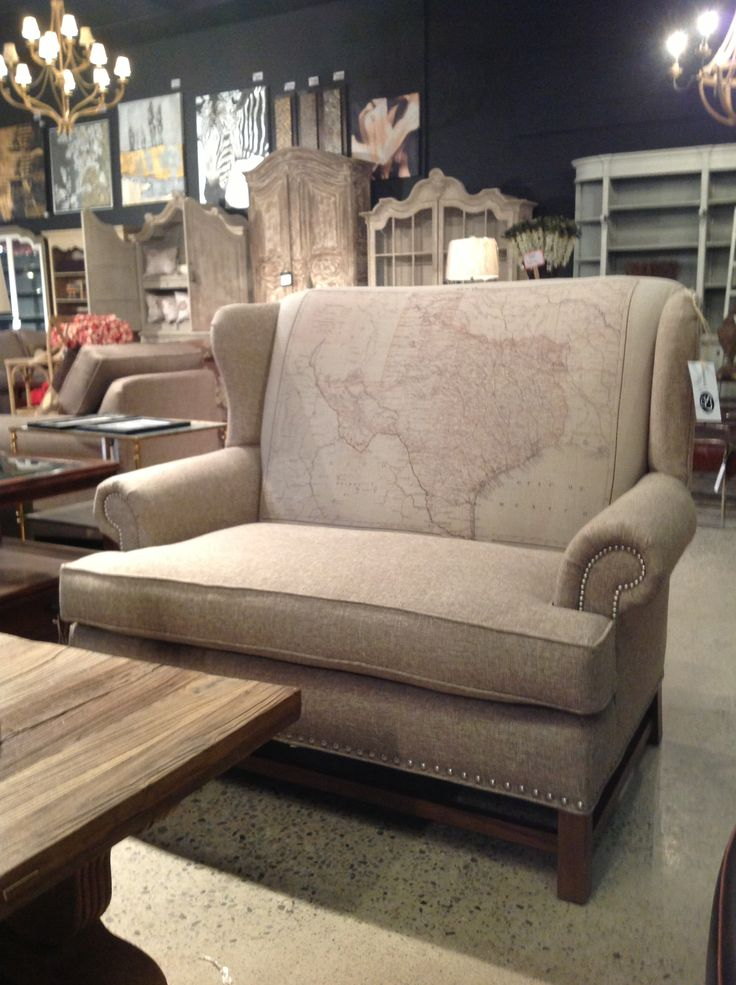 The Map Chair From Cornerstone Home Interiors