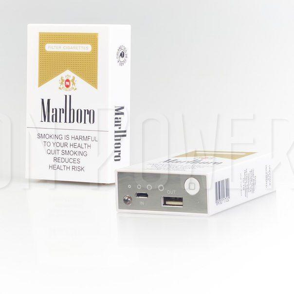"Портативный аккумулятор ""Marlboro"" | Fashion Power Bank"