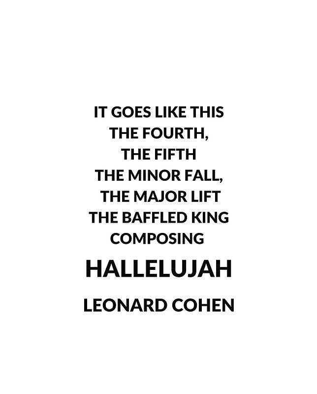 Hallelujah (Leonard Cohen song) - Wikipedia