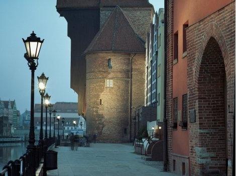 Gdańsk, rivier Motława