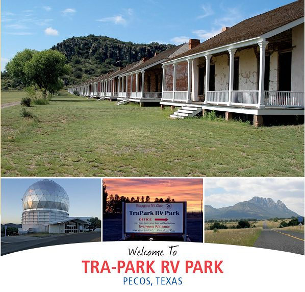 TRAPARK An Escapees RV Park In Pecos TX Oasis For Road