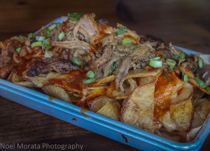 BBQ brisket at Francisco Mission district food tour - this is a real foodie tour with lots of places to taste in the Mission area http://travelphotodiscovery.com/san-francisco-mission-district-food-tour/