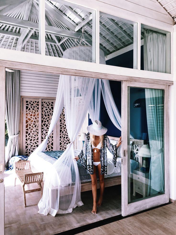 M s de 25 ideas incre bles sobre cama con mosquitero en - Como hacer un pabellon para cama ...
