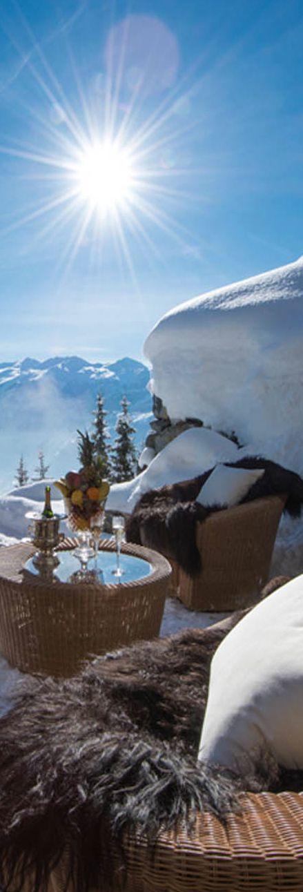 Les Trois Couronnes Luxury Ski Chalet...Switzerland | LOLO