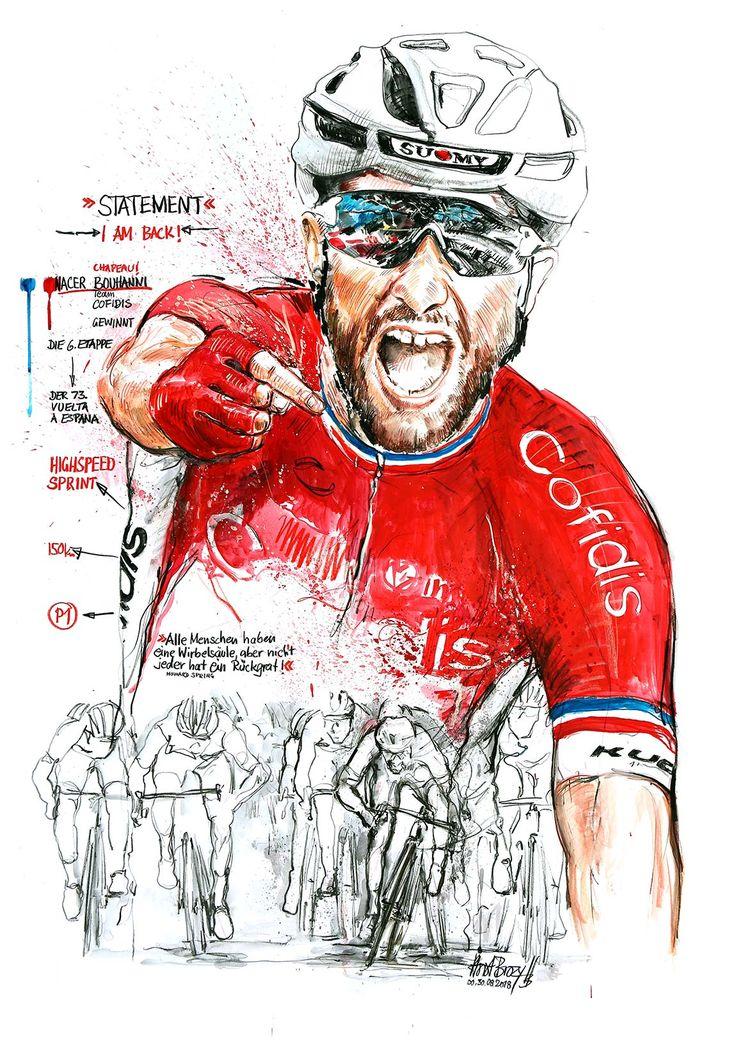 Nacer Bouhanni, Cofidis, gewinnt die 6. Etappe der 73