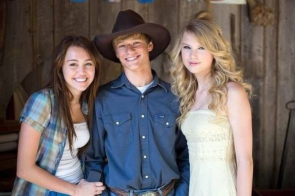 This was from the Hannah Montana movie! Taylor sang 2 of the songs