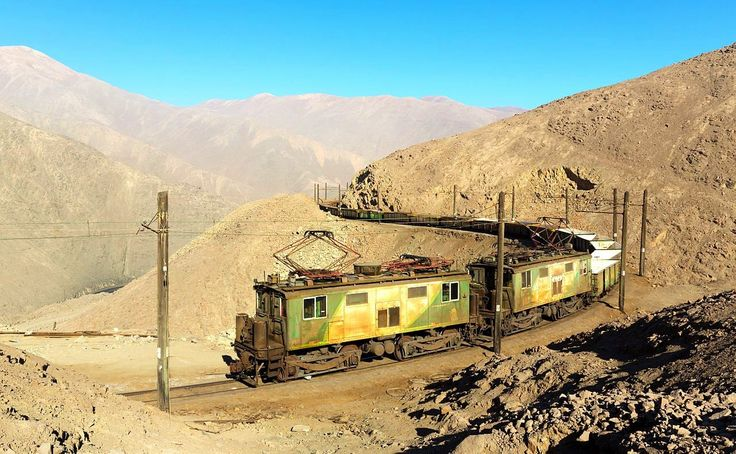 The northern railway in the desert of northern Chile. The Boxcabs are circa 1930 and still in use. A great post on words that start with B and refer to Chile. Read more here http://jveronr.blogspot.com/2014/09/describing-chile-with-words-that-start.html