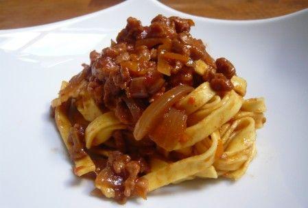 La sauce bolognaise (vegan & sans gluten)