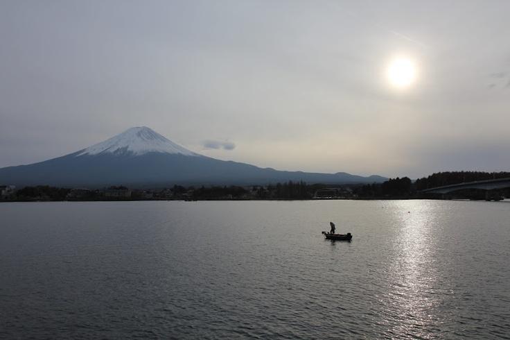 Late afternoon at Mount Fuji.  (Mount Fuji, Japan, 2010)