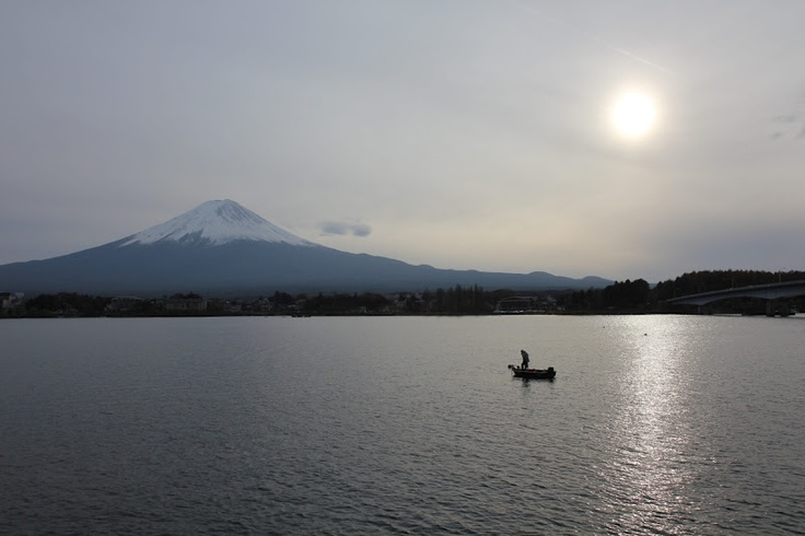 Late afternoon at Mount Fuji.  (Mount Fuji, Japan, 2010)
