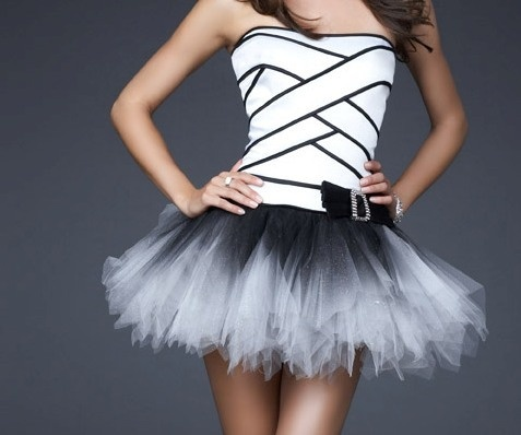: Birthday Dresses, Dresses Style, Clothing, Black And White, Black Swan, Tutu Dresses, Shorts Dresses, Beautiful Things, Style Fashion