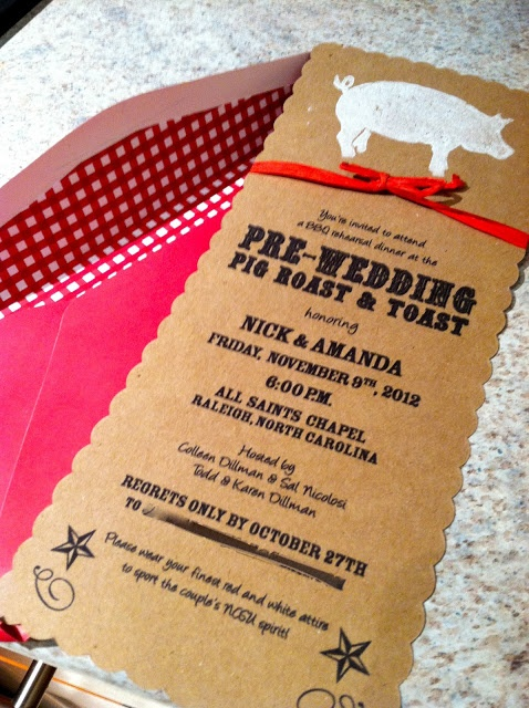 Pig Pickin' Rehearsal Dinner! What about a pig pickin' wedding?