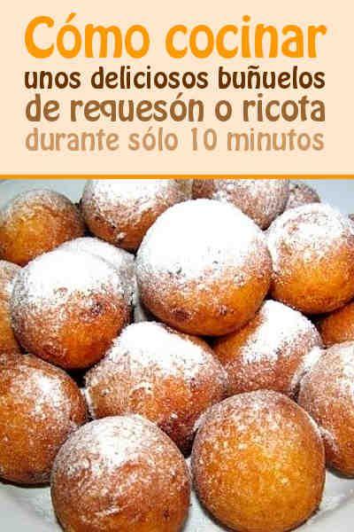#buñuelos #requesón #ricota