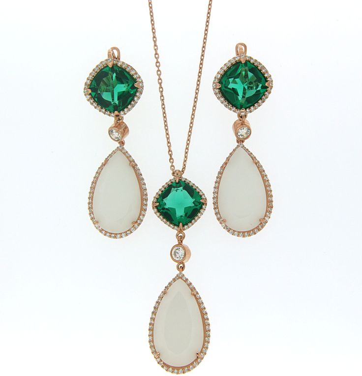 Kolye, Küpe / Necklace, Ear Rings