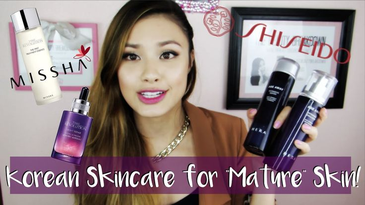 """High-End & Affordable Asian Skincare for """"Mature"""" Skin 