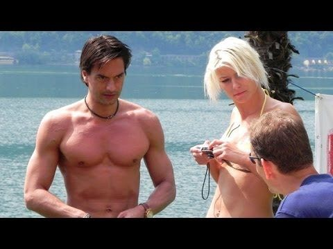 ▶ Marcus Schenkenberg - Splish Splash & Diving, Lake Lugano - YouTube