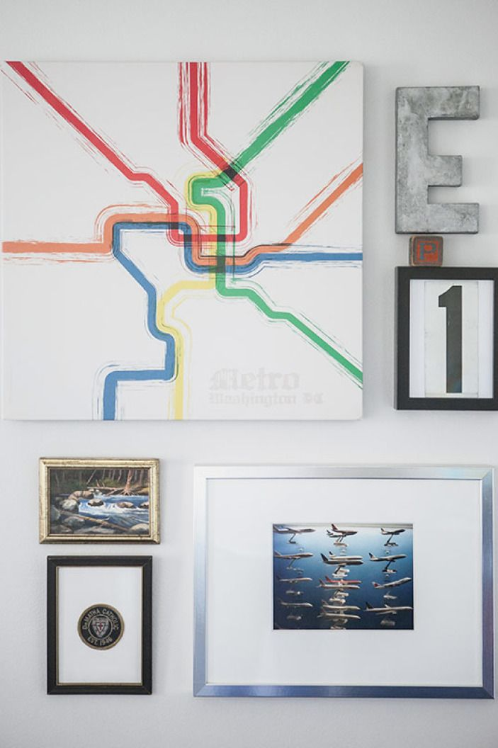 Washington Dc Popout Map%0A Beyond the books in the nursery  this DC subway map artwork may be the most