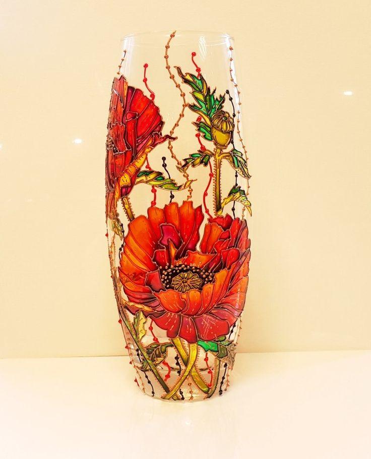 истории картинки по стеклу на вазочке счастью, получить можно