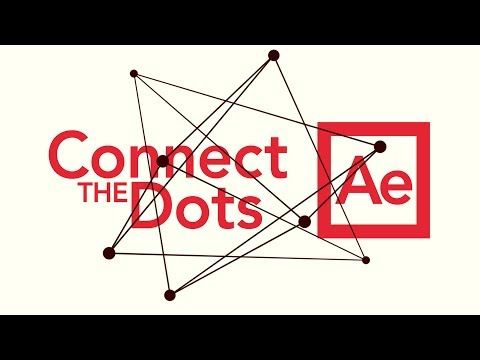 Connect Dots - Adobe After Effects tutorial - YouTube