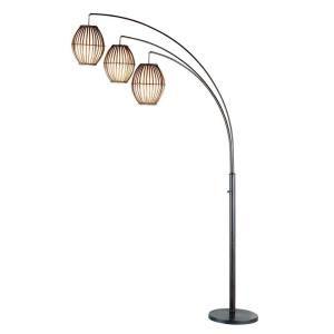 13 mejores imgenes de lighting en pinterest pisos lmparas de antique bronze arc floor lamp aloadofball Image collections