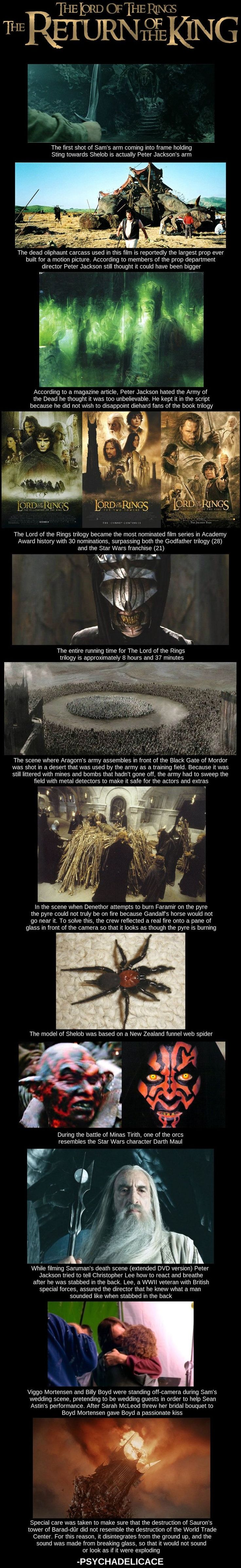 Facts about LotR