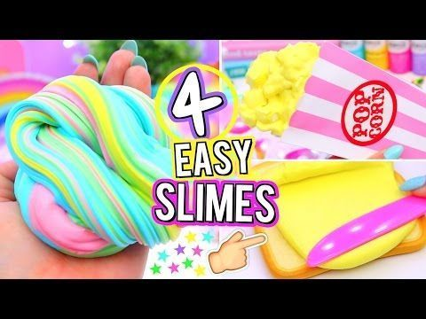 25 diy rainbow fluffy slime 5 farben slime 40 diy. Black Bedroom Furniture Sets. Home Design Ideas