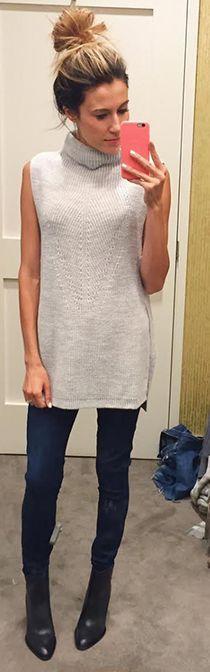 Best 25  Sleeveless tunic ideas on Pinterest   Celebrity style ...