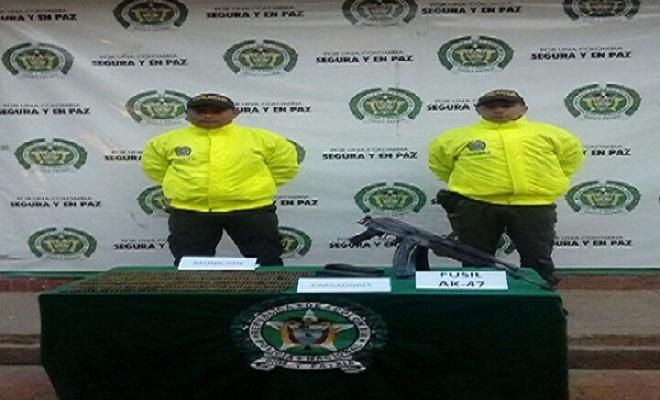 """a traves de informacion ciudadana hallamos un fusil - Categoria: Actualidad  ND: Unidades de la DivisiAn de InvestigaciAn Criminal en Guaviare localizaron el sitio exacto de la """"entrada"""". De conformidad con la RepresiAn Nationwide contra el Crimen ordenada por el Presidente de la RepAblica y el General DirecciAn de la PolicAa Nacional de todos los colombianos, hemos logrado despuAs de una investigaciAn previa e informaciAn provista por la comunidad que uniformaba la Rama de InvestigaciAn…"""