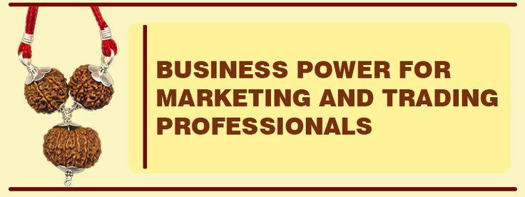 BUSINESS POWER FOR MARKETING AND TRADING PROFESSIONALS : This combination enhances the marketing and selling skills of the wearer by attracting the customer with his knowledge and skills. It also enhances the name and fame of the wearer.Gives dynamism,confidence , success to the wearer. It contains 1 bead of 7 mukhi Rudraksha,1 bead of 8 mukhi Rudraksha and 1 bead of 13 mukhi Rudraksha. See more http://www.rudralife.com/Rudraksha/details.php?id=77