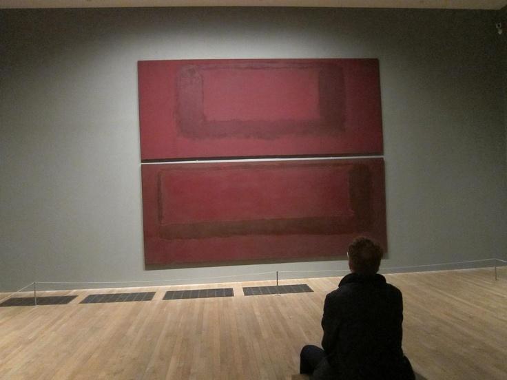Rothko Room @ Tate Modern, where I spent many hours...