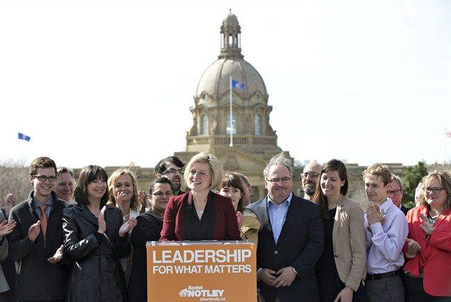 Next Alberta Premier Rachel Notley takes up father's NDP legacy