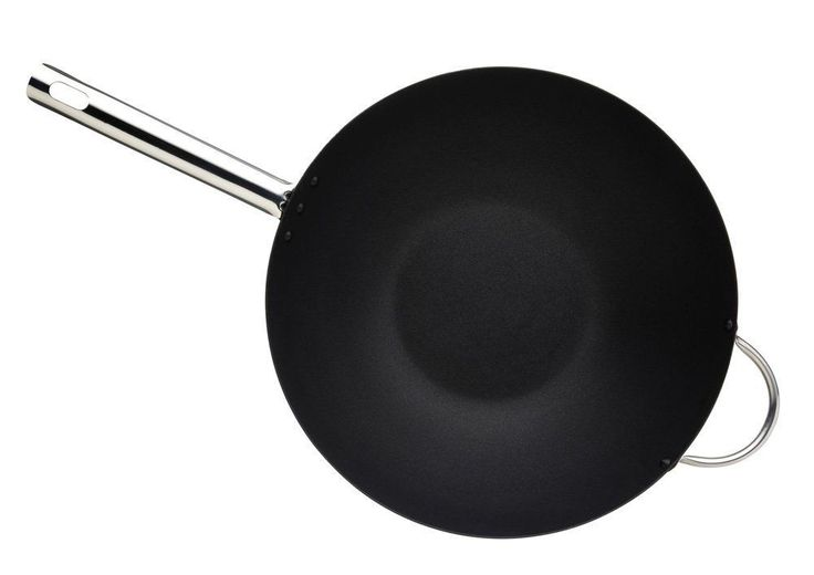 Non-Stick #Wok Carbon Steel Induction-Safe Master Class Professional 35.5 cm NEW #MasterClass #stirfry #cook #kitchen