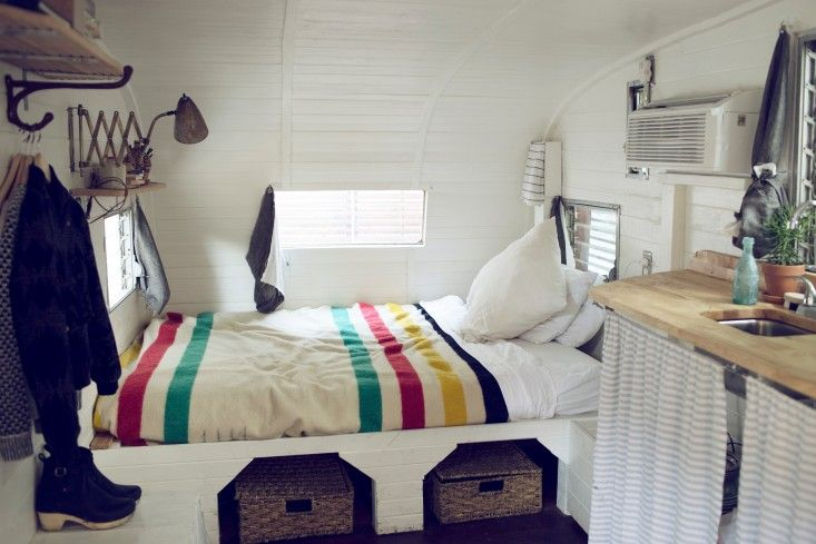 Photo via Remodelista Joining the ranks of the great many vintage campers primed to edge out micro homes as the internet's favorite tiny housing option is Nashville's most lovable—and perhaps...