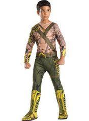 Boys Aquaman Muscle Costume - Batman v Superman: Dawn of Justice