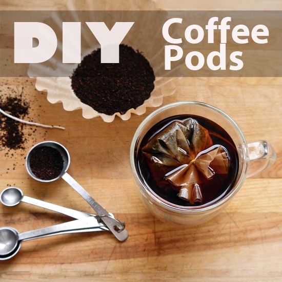 Pretty amazing. You can make to-go coffee pods with coffee filters. Great to bring with you on your trips or good as a gift!
