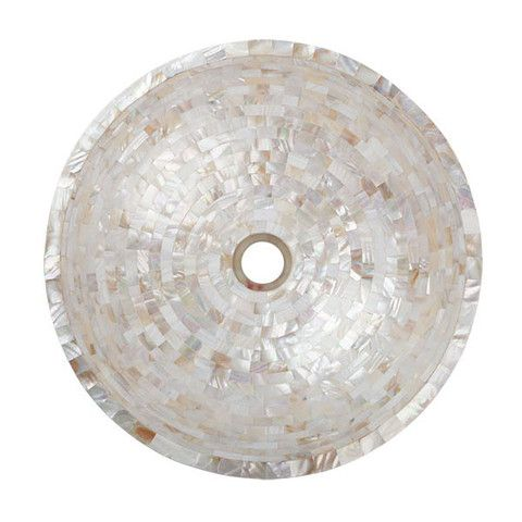 Mother Of Pearl Vessel Basin Bathroom Sink Mothers