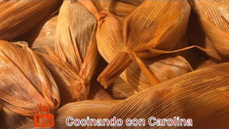 COMO HACER TAMALES / TAMALES DE CARNE..