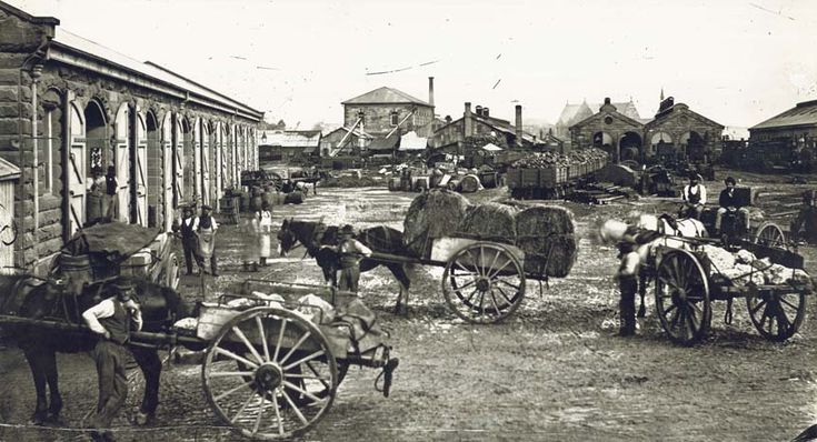 Central Railway 1874 (before the current building)