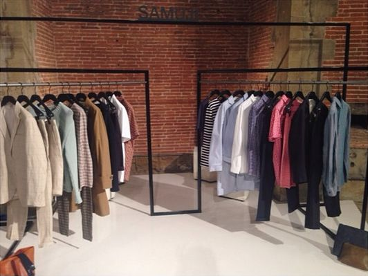 Samuji Man Spring Summer 2015 at Pitti Uomo