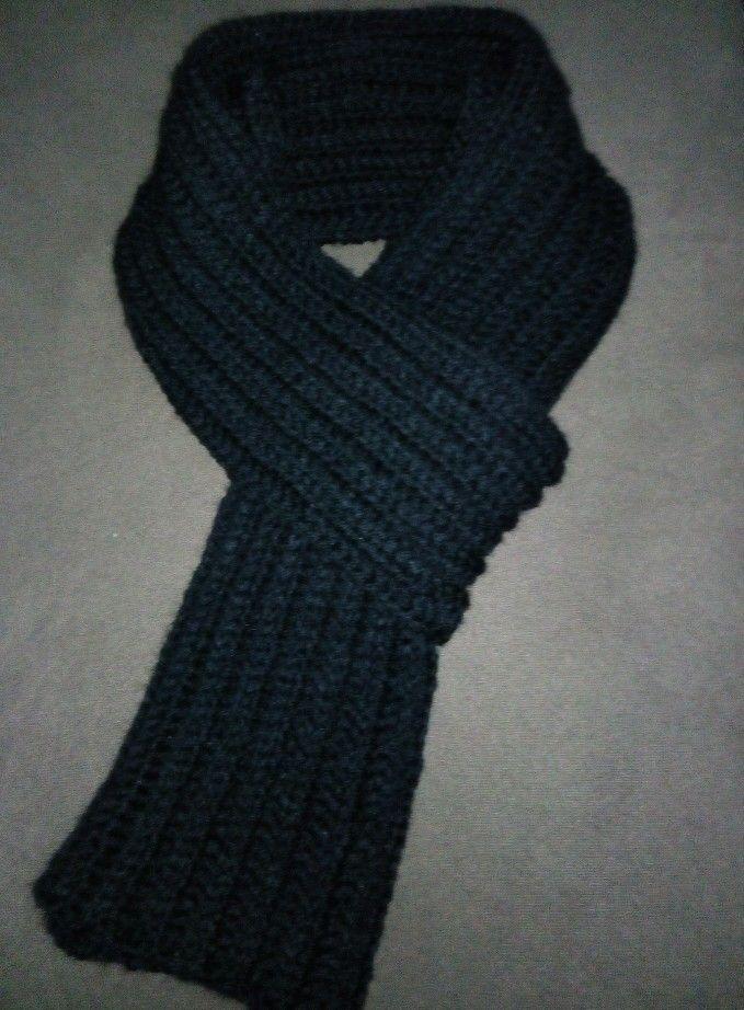 Scarf crochet for men