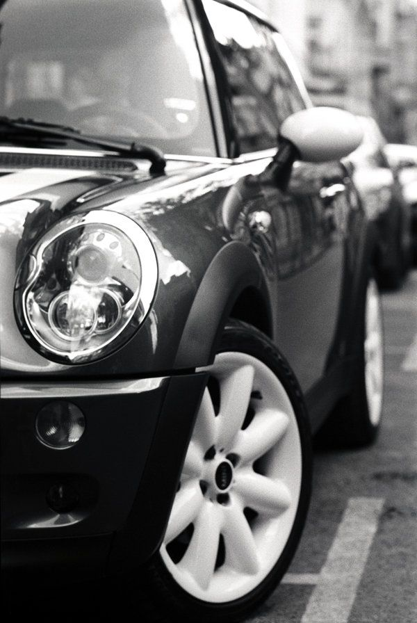 Mini Cooper S, a piece of Art on the road.