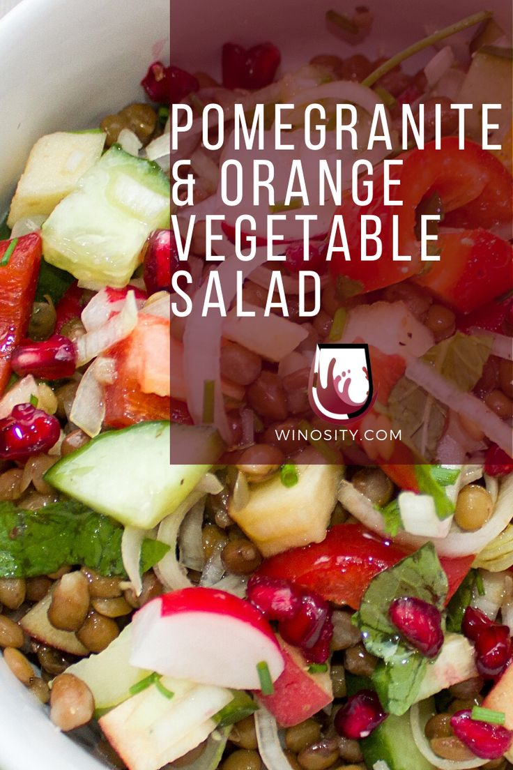 Easy Vegetarian Salad Idea And Is Great With White Wines In 2020 Easy Vegetarian Vegetarian Salads Vegan Meal Plans