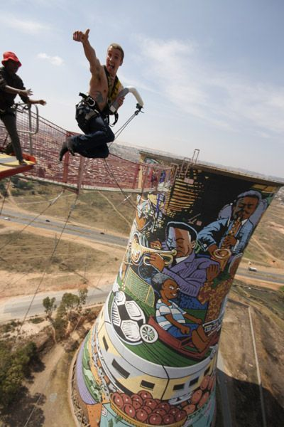 Orlando Towers - Soweto - Johannesburg We dare you!