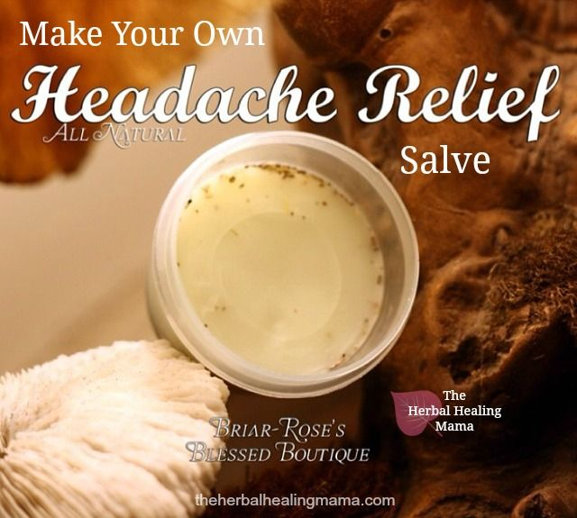 This headache relief salve is a light, aromatic mix of peppermint and lavender oils. I can  honestly say that this is the most used salve I make in my home. Everyone benefits from it. It works wond...