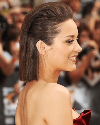 Frisur lange haare nach hinten