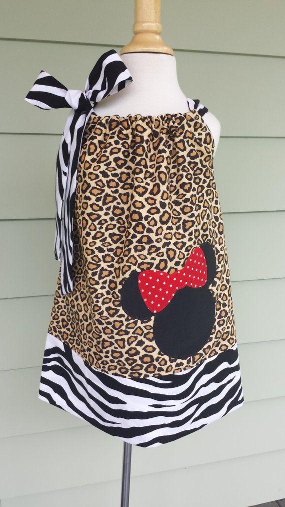 Girls minnie mouse safari pillowcase dress zebra \u0026 by & 1000+ images about Disney on Pinterest pillowsntoast.com