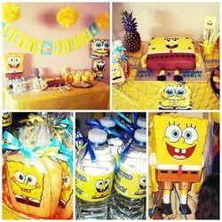 SpongeBob Birthday party ideas