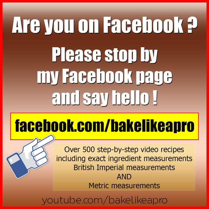 Are you on Facebook ?  Please stop by my Facebook page and say hello !