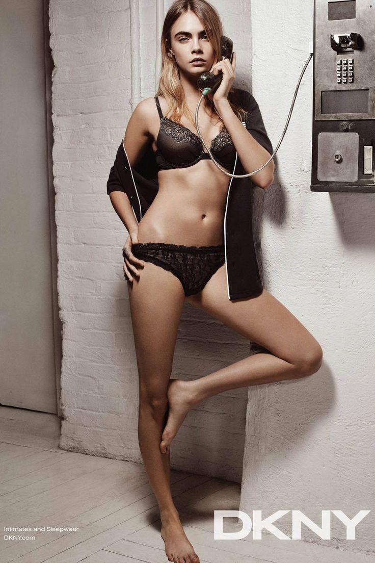 Cara Delevingne for DKNY Spring 2015: