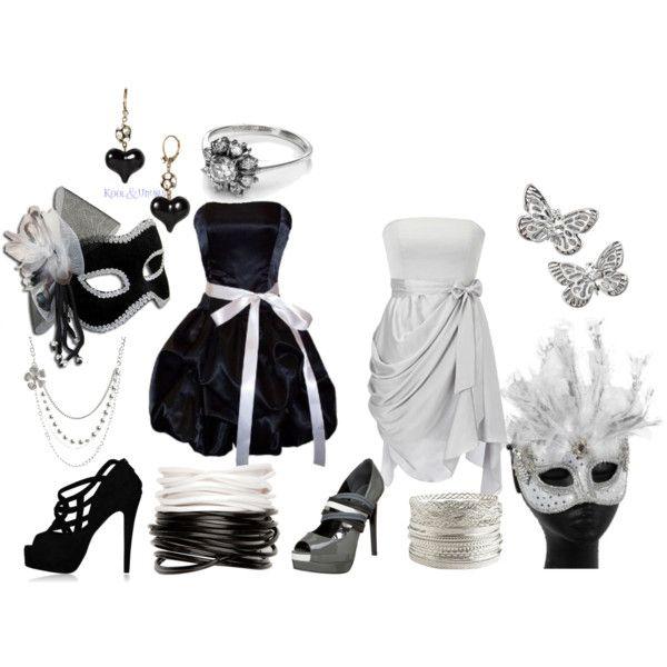 Black And White Masquerade